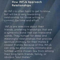 INFJ approach to relationships Rarest Personality Type, Mbti Personality, Myers Briggs Personality Types, Personality Characteristics, Personality Psychology, Personality Profile, Psychology Quotes, Psychology Today, Infj Mbti