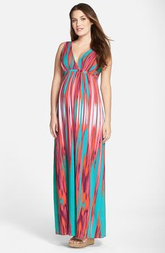 Shop Tart Maternity 'chloe' Maternity Maxi Dress at Modalist