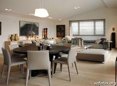 Sala de jantar decorada 16