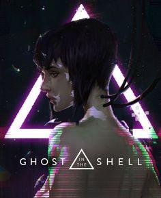 Ghost in the shell, Himchan Kim on ArtStation at https://www.artstation.com/artwork/v3EDO - More at https://pinterest.com/supergirlsart #gits #major #motoko #kusanagi