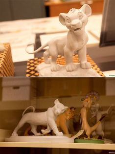 Disney - The Lion King maquettes