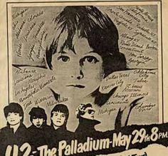 Poster concierto U2 Boy
