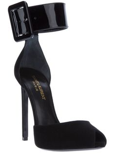 SAINT LAURENT Ankle Cuff Sandal