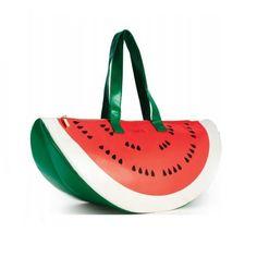 Ban.do Super Chill Cooler Bag, Watermelon, Red/Green