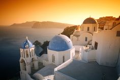 Santorini, Greece - where Bill and I got engaged back in 2002