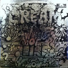 Cream - Wheels Of Fire (Vinyl, LP, Album) at Discogs 1968/gatefold/2 records