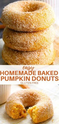 Gluten Free Deserts, Gluten Free Donuts, Gluten Free Sweets, Foods With Gluten, Dairy Free Recipes, Gluten Free Fried Donut Recipe, Healthy Gluten Free Snacks, Gluten Free Dinners, Sugar Free Donuts