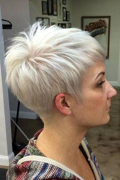 The Best Short Hair Cut Ideas for Spring 2017 ★ See more: http://lovehairstyles.com/best-short-hair-cut-ideas/