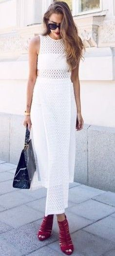 #summer #kenzas #outfits |  White + Red
