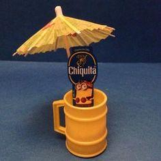 #stickaminiononit #week3 #chiquita #banana #despicableme2 #minion #minions #win #entertowin #giveaway #photocontest #yellow #miniature #mug #drinkumbrellas #nofilter (Photo by @1FrugalMom)