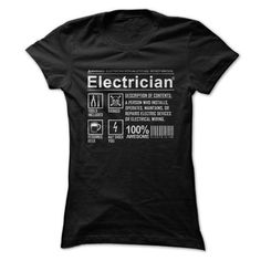 Electricians Humor T Shirts, Hoodies Sweatshirts. Check price ==► http://store.customtshirts.xyz/go.php?u=https://www.sunfrog.com/Jobs/Electricians-Humor.html?41382