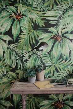 Gorgoeus Ideas Of Tropical Wall Mural For Summer. Here are the Ideas Of Tropical Wall Mural For Summer. This article about Ideas Of Tropical Wall Mural For Summer was posted under the category by our team at May 2019 at am. Hope you enjoy it and . Tropical Style, Tropical Decor, Tropical Interior, Tropical Furniture, Tropical Colors, Design Set, House Design, Blog Design, Print Design