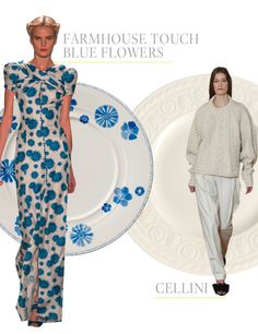 Fashion for the table by Isabelle von Boch
