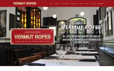 Benvinguts a la nostra nova plana web - Restaurant Vermuts Rofes Casa Gaudi, Nova, Broadway Shows, Vacations, Restaurants, Homemade