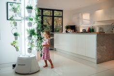 Voici nutritower, un jardin d'intérieur ou potager design et innovant créé par Bryce Nagels. L'entreprise vend leur produit comme un nouvel appareil indispensable pour la maison. Au même titre qu'un frigo ou un four.