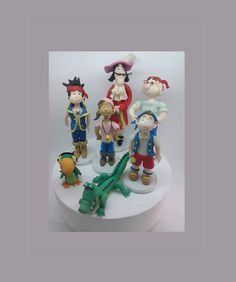 How about making your big day even more special with a personalized handmade custom made to your personal taste?  All #cake toppers are unique and made of cold porcelain non... #children #birthday #clay #biscuit