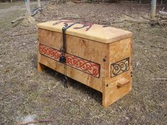 The Newest viking chest i made...