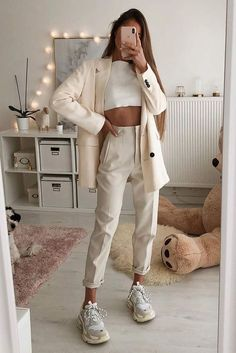 Style Outfits, Mode Outfits, Cute Casual Outfits, Casual Chic, Cool Girl Outfits, Hijab Casual, Flannel Outfits, Crazy Outfits, Hijab Outfit