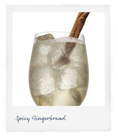 Holiday Cocktails: Spicy Ginger Man: 1 oz Vanilla Vodka 1 oz Hazelnut liqueur oz Butterscotch Schnapps 2 oz Ginger Beer Cinnamon stick Combine all ingredients in a shaker and shake over ice. Pour over ice into a rocks glass and garnish with Cinnamon stick Party Drinks, Fun Drinks, Yummy Drinks, Alcoholic Drinks, Pj Party, House Party, Yummy Food, Spicy Ginger, Ginger Beer