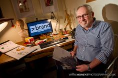 Gordon Coldwell of I>Brand www.imorethanbrand.co.uk  Marketing and branding for your business.