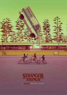 Essa cena // Stranger Things By.: Gio Barbutti