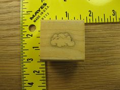 SINGLE LITTLE CLOUD BY HERO ARTS Rubber Stamp #1415