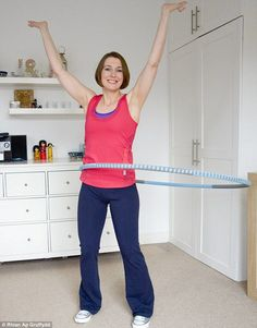 The 10-minute workout that rolled away my spare tyre in six weeks: Think hula hoops are toys? They could change your life...