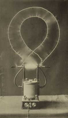 Electrical oscillator by Nikola Tesla