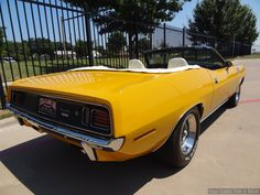 1970 Plymouth Hemi Cuda convertible Nash Bridges #1 filming car. The real deal. For sale on Ebay. (right rear side)