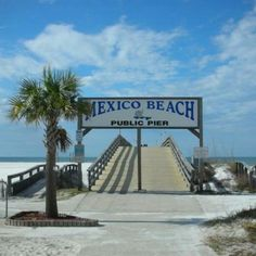 The Pier Mexico Beach Florida Beaches Places In
