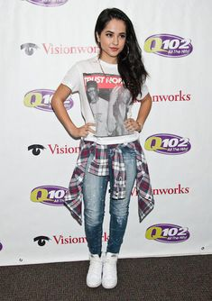 Becky G visits Q102′s Performance Theatre in Bala Cynwyd...