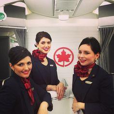 Air Canada cabin crew