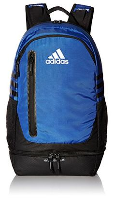adidas Unisex Pivot Team Backpack, Bold Blue Black Neo White, One Size      undefined. Travel Lover · Gym Bags 4832581fde