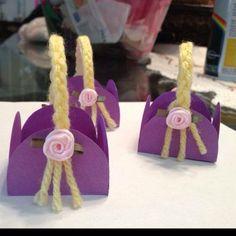 Bolstas para dulces rapunzel