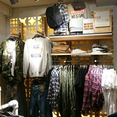 Clothing Store Interior, Visual Merchandising, Wardrobe Rack, Clothes, Furniture, Home Decor, Outfits, Clothing, Decoration Home