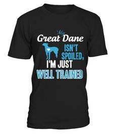 Best Great Dane   My Homeland Security front Shirt  Funny Great Dane T-shirt, Best Great Dane T-shirt