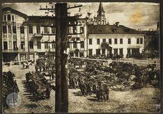 8 жніўня 1919 г., польскі парад.