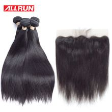 Allrun Peruvian Hair Products 4 Pc Straight Human Hair Bundles With 13*4 Lace Frontal Non Remy Hair Weft Hair Weave     Wholesale Priced Wigs, Extensions, And Bundles!     FREE Shipping Worldwide     Buy one here---> http://humanhairemporium.com/products/allrun-peruvian-hair-products-4-pc-straight-human-hair-bundles-with-134-lace-frontal-non-remy-hair-weft-hair-weave/  #human_hair