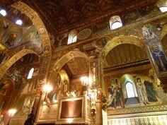 """Cappella Palatina, """"Palazzo dei Normanni"""", Palermo Sicilia"""