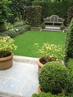 Garden Design With Artificial Grass narrow space garden with artificial grass | small garden