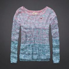 Nice warm Hollister sweater.