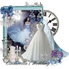 """Disney Style : Cinderella's Wedding"" by missm26 on Polyvore"