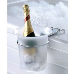 Need to get me one of these for my jacuzzi tub....I would never get out of the bath