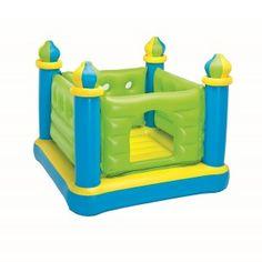 Trampoline gonflable en forme de château