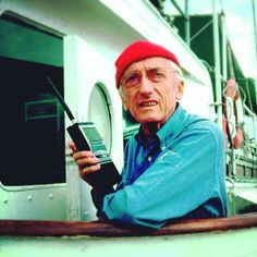 Captain jacques Yves Cousteau
