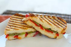 Grown up tuscan grilled cheese. You're never too old for a grilled cheese sandwich.