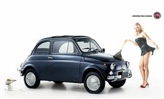 Automobile, Good Looking Cars, Fiat Cars, Fiat 600, Fiat Abarth, Steyr, Small Cars, Vintage Racing, Maserati
