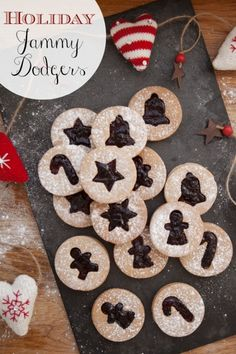 Christmas Jammy Dodgers