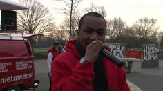 Roken is zooo de actie van KWF Roken is zooo - Rap bus en Marra 2014