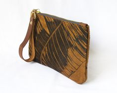 Leather Clutch - Lichen & Leaf | shop.kamersvol.com Maker Shop, Online Marketplace, Leather Clutch, South Africa, Creative, Bags, Shopping, Collection, Handbags